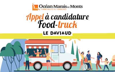 Appel à candidature : un Food Truck au Daviaud !