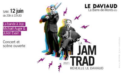 La Jam Trad' réveille Le Daviaud